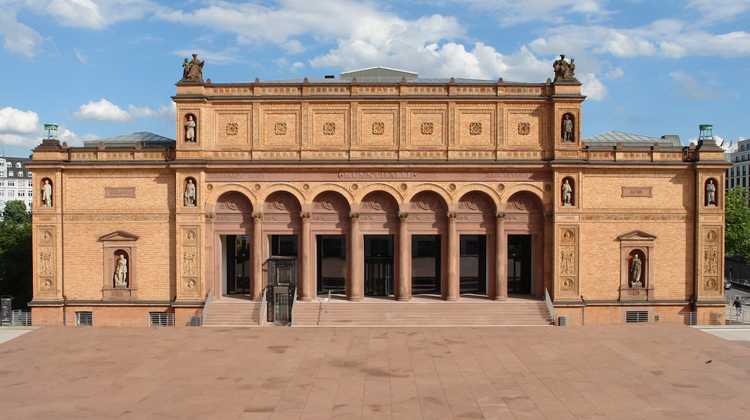 Fassade der Hamburger Kunsthalle