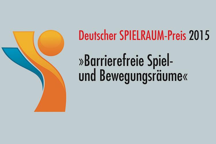 Logo des deutschen SPielraum-Preis 2015
