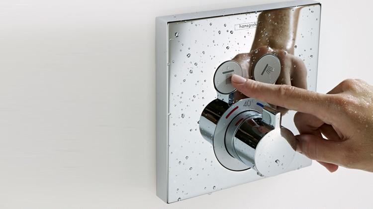 Duscharmatur der Firma Hansgrohe