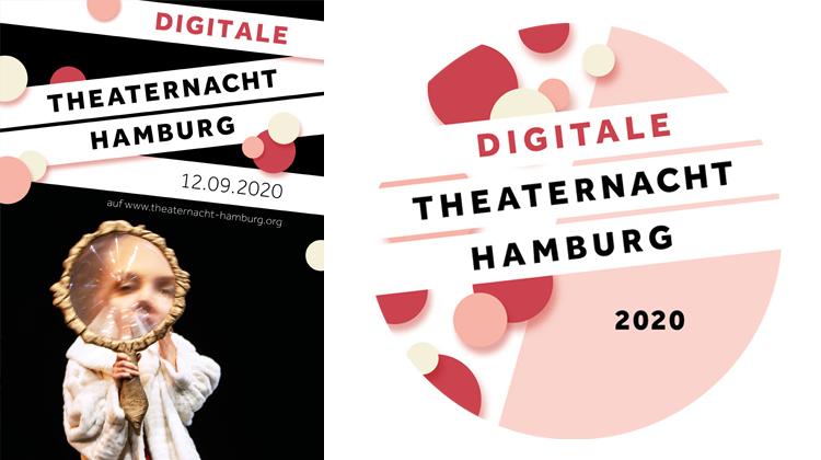 Collage der BIlder von Theaternacht Hamburg 2020