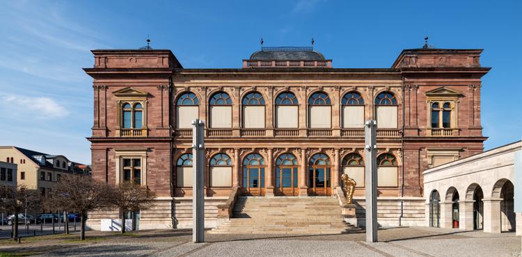 Fassaden des Museums Neues Weimar (Klassikstiftung Weimar)