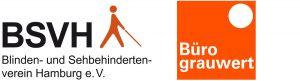 Logo vom BSVH und grauwert
